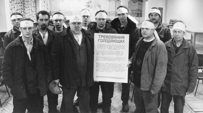 История профсоюзов: Впервые в мире проведенная акция -голодовка на одном из сдаточных заказов,