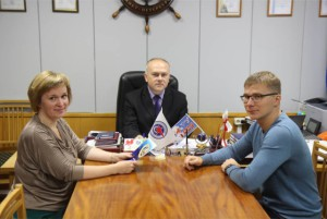 Алексей Кукушкин и заместители
